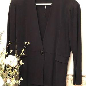 MISOOK: Knit Single-button Jacket